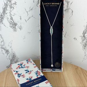 NWT Lucky Brand Drop Necklace